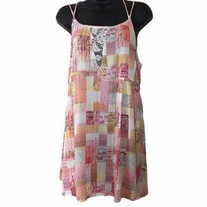 Brand new colorful summer dress size large